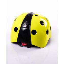 Lady Bug Helmet Yellow
