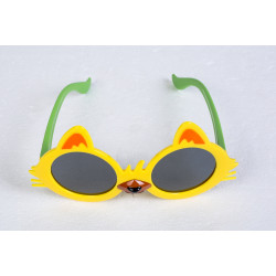 Yellow Ear Sunglasses