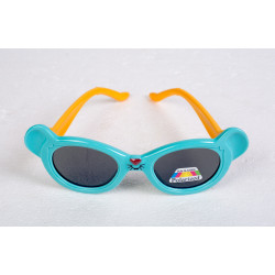 Bunny Sunglasses Blue/Yellow