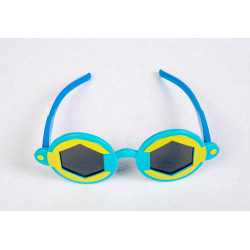 Hexagon Sunglasses Sky Blue...