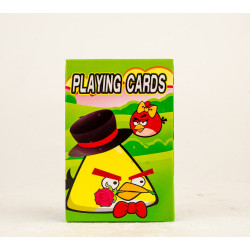 Angry Birds Playing Cards