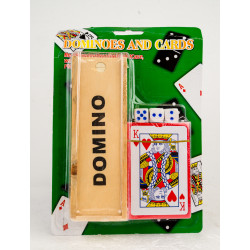 Domino and Playing Cards