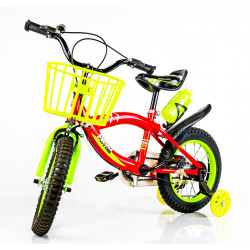 Yellow/Red Bicycle 14""