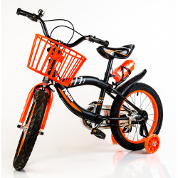 "Orange/Black 16"" Bicycle"