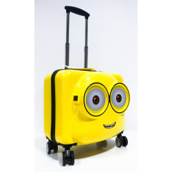 Minion Luggage Bag