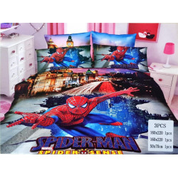Spiderman 3 Pc Bed Cover