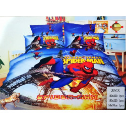 Spider-man 3 Pc Bed Cover