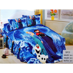 Frozen 3 Pc Bed Cover