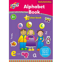 Galt Toys Home Learning Alphabet Sticker Books