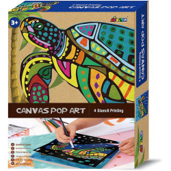 Canvas Pop Art - Turtle
