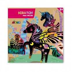 Magic Animal Scratch - Unicorn