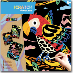 Magic Scratch Animal - Bird