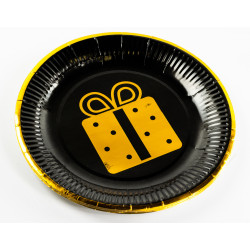 Party Paper Plates - Present