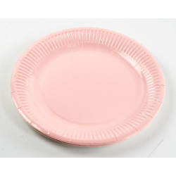 Pink Paper Plates