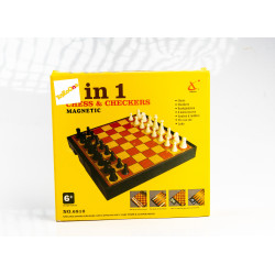 7 in 1 Chess & Checkers