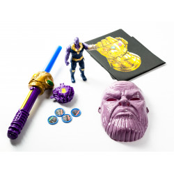 Thanos Action Figure and Set