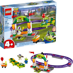 LEGO Disney Pixar's Toy Story 4 Carnival Thrill Coaster