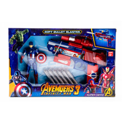 Captain America Soft Bullet...