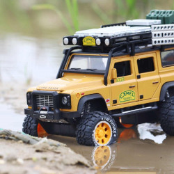 Die Cast Car Model - Land Rover Yellow