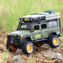 Die Cast Car Model - Land Rover Green