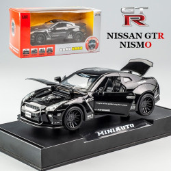 Die Cast Car Model - Nissan GTR Nismo Black