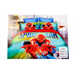 Spiderman 3pc Bed Cover