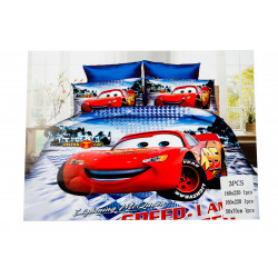 Lightning McQueen 3 Pc Bed...