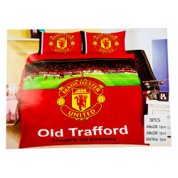 Manchester United 3 Pc Bed Cover