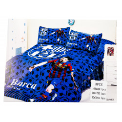 Messi FCB 3 Pc Bed Cover