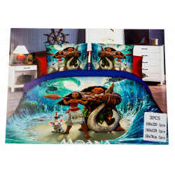 Moana 3 Pc Bed Cover