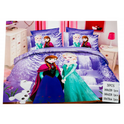 Emma & Elsa 3 pc Bed Cover