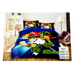Ben 10 3Pc Bed Cover
