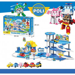 ROBOCAR POLI Parking Lot