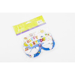 Party Time Face Mask Blue