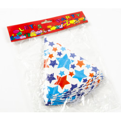 Party Hats 16cm Stars