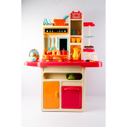 Large Kitchen Set with Red...