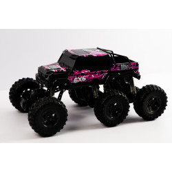 6*6 RC Rock Crawler Pink