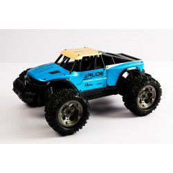 Metallic Blue RC Car