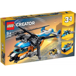 Lego Twin-Rotor Helicopter...