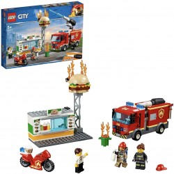 LEGO 60214 City Fire Burger...