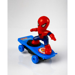 Spiderman on Skateboard