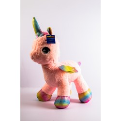 Unicorn Soft Toy Pink 60cm