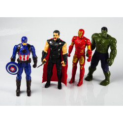 4 Avengers Action Figure set