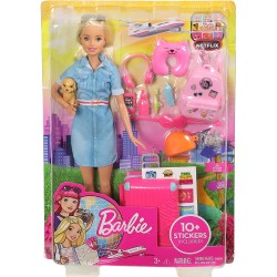 Barbie Doll and Travel Set...