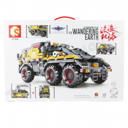 SEMBO Blocks The Wandering Earth Iron Cargo Truck